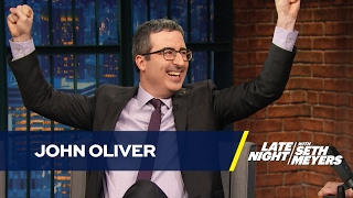 John Oliver Thinks Obama Should Chill with th...