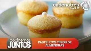 Receta pastelitos tibios de almendras / Recipe warm almond cakes