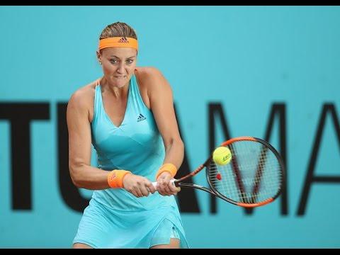 2017 Mutua Madrid Open Round of 16 |  Kristina Mladenovic vs Oceane Dodin | WTA Highlights