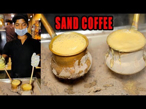 SAND COFFY IN HYDERABAD | AMAZING COOKING SKILLS