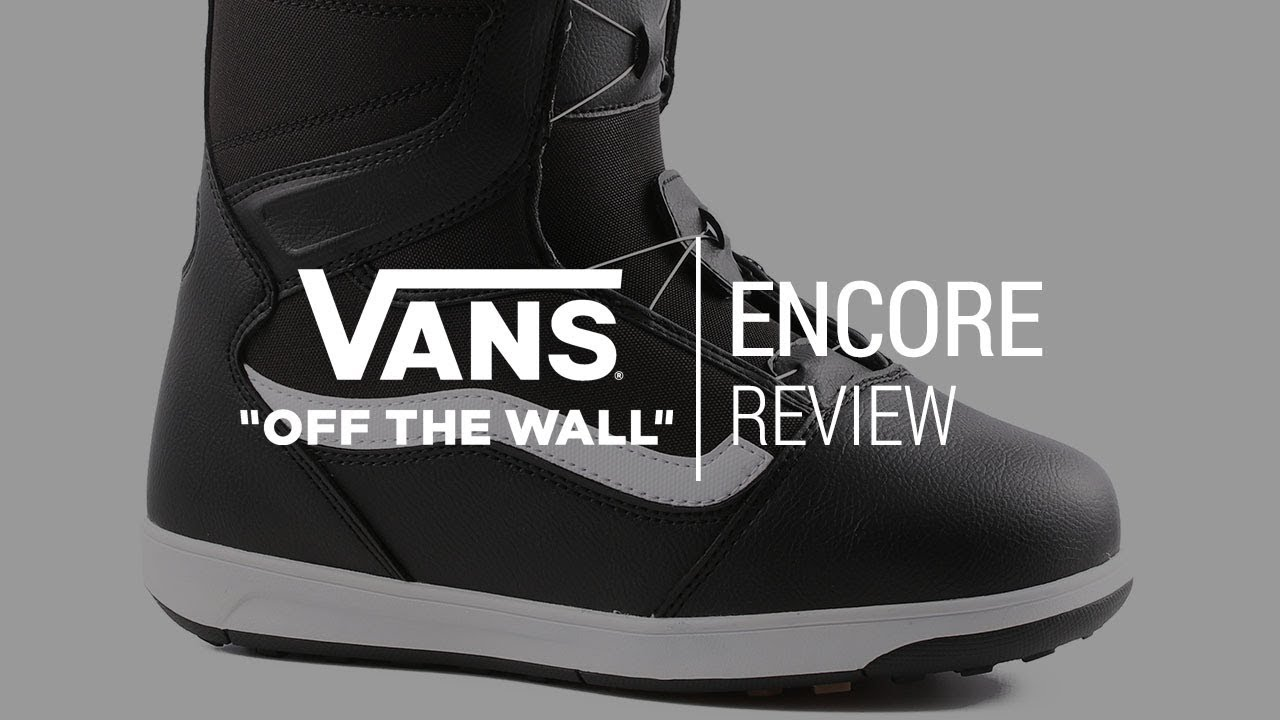 d1817ac5ba5f75 Vans Encore 2018 Snowboard Boot Review - Tactics.com - YouTube