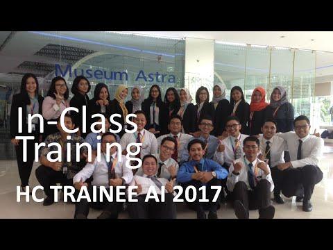 In-Class Training, HC Trainee AI 2017