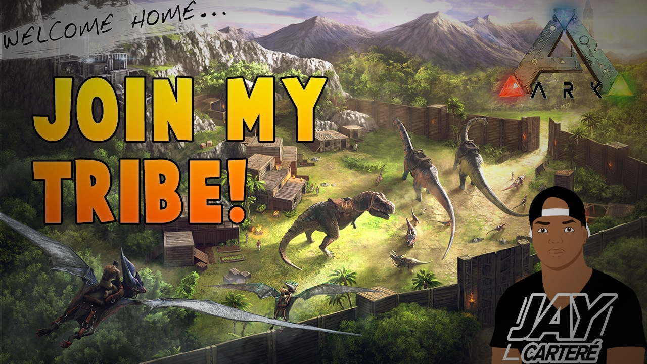 Ark Survival Evolved PS4 PVP - Join My Tribe! - The Saviors 420 ...