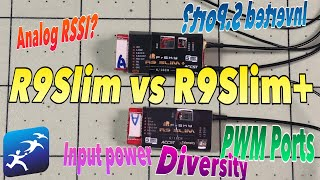 FrSky R9Slim and R9Slim+ Receiver Shootout, What is the difference?
