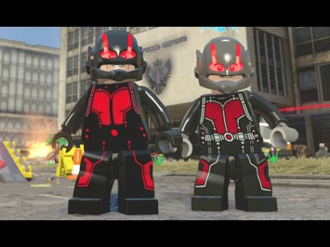 LEGO Marvel's Avengers - Ant-Man DLC All Characters (A Quick Look) poster