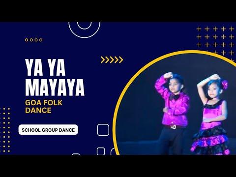 Goa folk song dance ya ya mayayya by Harshita & group