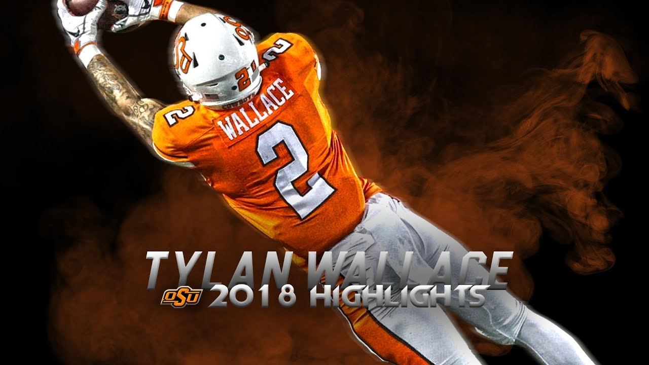 Tylan Wallace 2018 Oklahoma State Highlights - Best Deep Threat in College Football ᴴᴰ