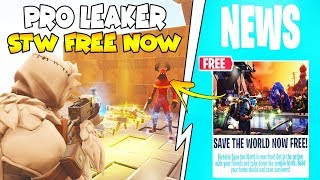 Save The World Free Leaked By Scammer! 😱 (Scammer Gets Scammed) Fortnite Save The World