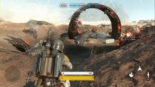 Star Wars Battlefront - Battle of Jakku Walker Assault Gameplay PS4 (No Commentary)