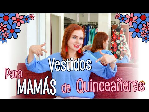 Vestidos Para Mamás De Las Quinceañeras Ada Pelayo