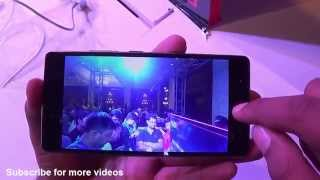 Nubia Z9 Mini India Hands on Review - Camera, Features, Design, Price
