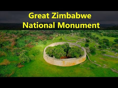Best Tourist Attractions Places To Travel In Zimbabwe | Great Zimbabwe National Monument Destination