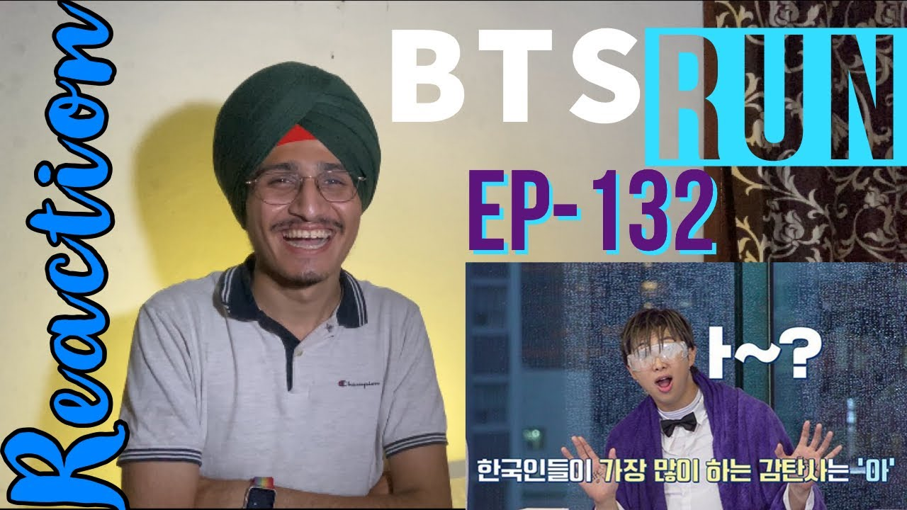 Indian Reacts To Run BTS! 2020 - EP.132 [ENG SUB]