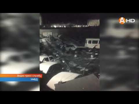 В Мурманске обокрали автомобили, припаркованные на стоянке автосервиса