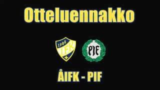 Otteluennakko ÅIFK-PIF 26.10.2016