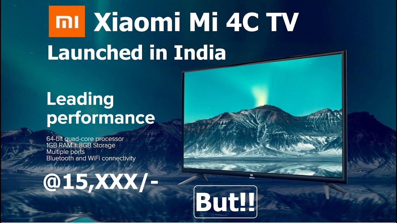 New Xiaomi Mi TV 4C Launched in India   But?   #MI4CTV #XiaomiMITV4C #MITV4C #Mi4CTVHDReady
