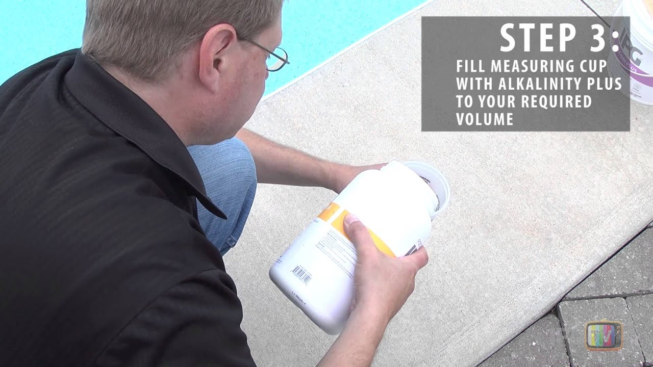 How To Test Your Swimming Pool Alkalinity Youtube