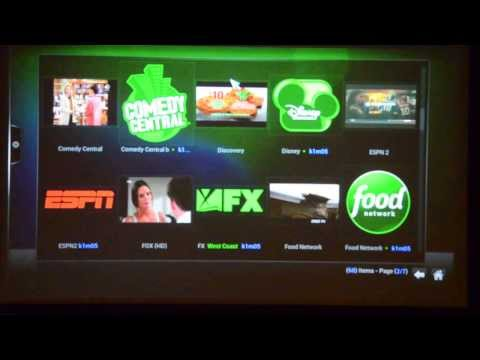 Android MX Box Rooted w/XBMC fully programmed - LIVE TV DEMO (NETWORK, EXPANDED & MOVIE CHANNELS)