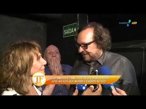 Colegas Se Despedem De José Wilker Em Velório - TV Fama 07/04/2014