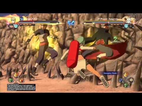 Great Ninja War Tobi Gameplay Request From Neji Hyuga Fan NUNS4