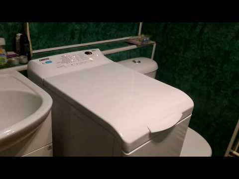 Обзор ZANUSSI ZWY61025DI стиральная машина с вертикальной загрузкой