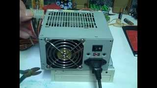 How To  Turn on PC Power Supply Without MotherBoard