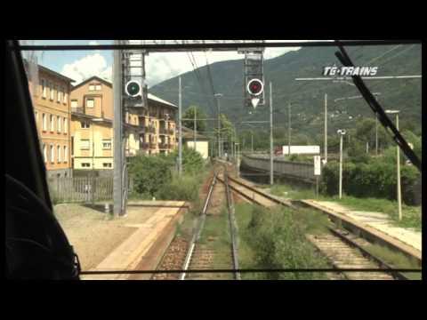 TG CL 123 FS Cab ride Milano C to Tirano via mainline