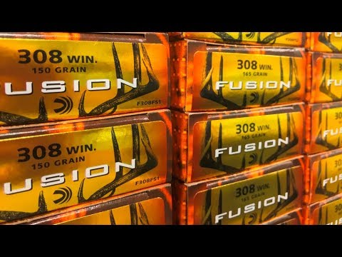 Federal Premium, Fusion, and Power Shok Ammo In Stock Now