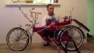 Custom lowrider bike airkit