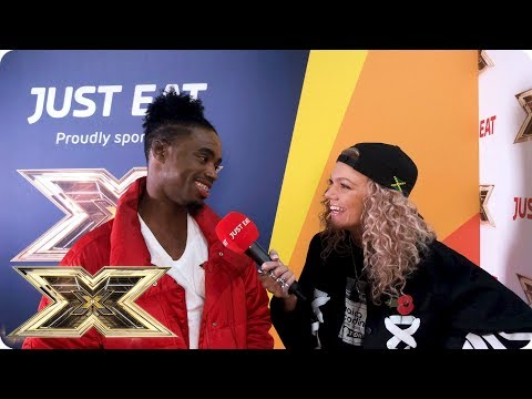 Exclusive interview with Dalton Harris from The X Factor-Just Eat's Backstage Bites 2018 | Episode 5