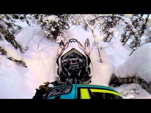 Тест снегохода Polaris 800 PRO RMK AXYS 155 2,6 на Приполярном Урале  Часть II