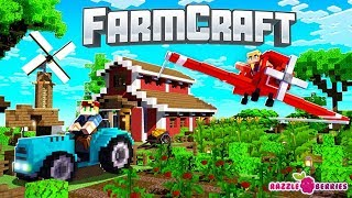 Minecraft - Farmcraft Gameplay Part 1 - All New Farming Adventure (Minecraft Lets Play)