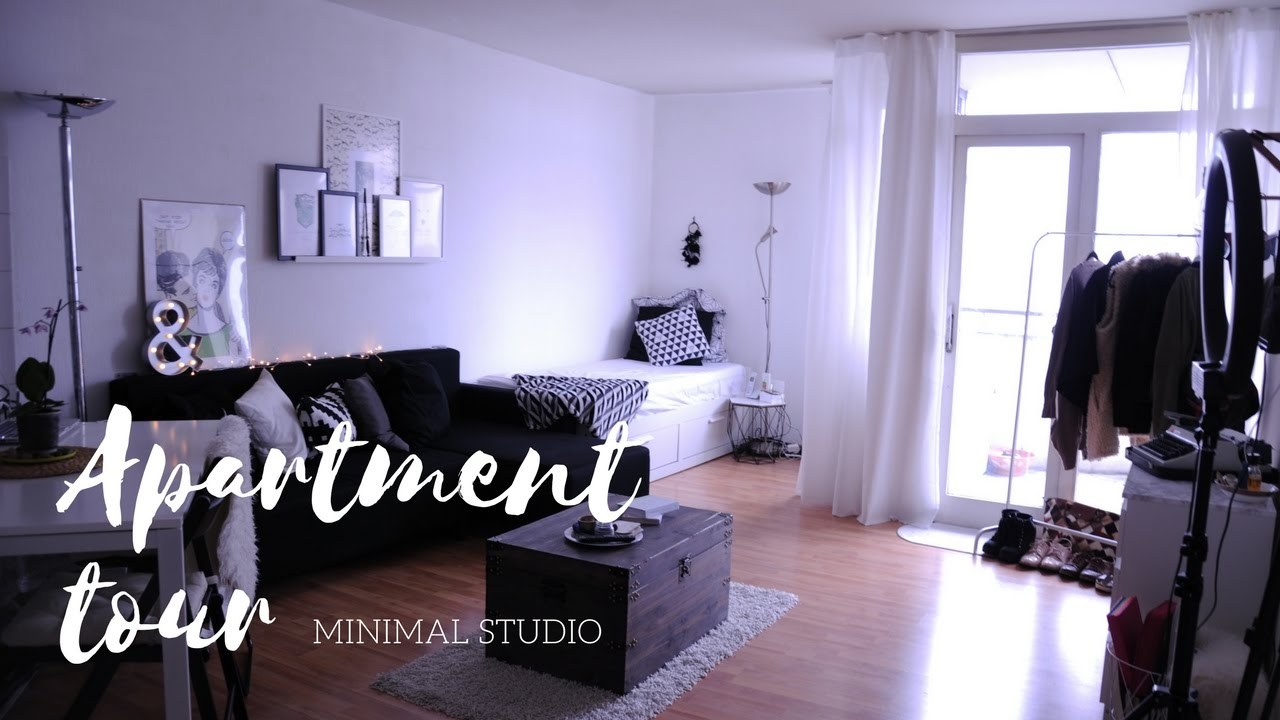 Studio Minimal minimal studio apartment tour // berlin 2017 !! - youtube