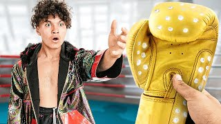 Surprising FaZe Jarvis with Custom Boxing Outfit, then Boxing Him ($10,000)