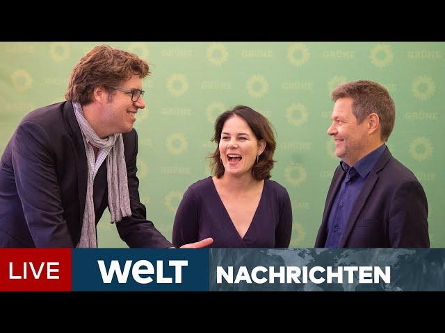 GUTE LAUNE-PARTEI: Die Grünen entscheiden über Koalitionsgespräche mit SPD und FDP   WELT Newsstream
