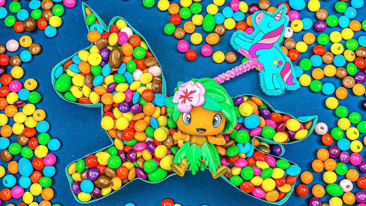 Cool Satisfying Video | New Mixing Candy in Magic Rainbow Unicorn Cutting ASMR