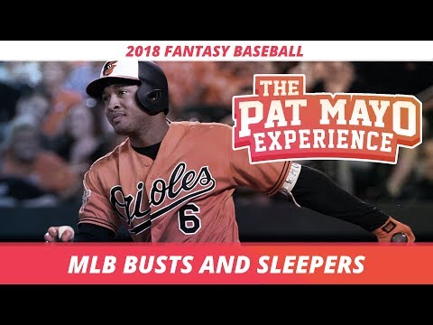 2018 Fantasy Baseball Rankings: Late Sleepers and Early Busts