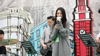 HANA菊梓喬 - 命硬(cover)@Joox Music in the City 20161203