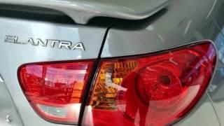 2010 Hyundai Elantra HD SX Silver 4 Speed Automatic Sedan смотреть