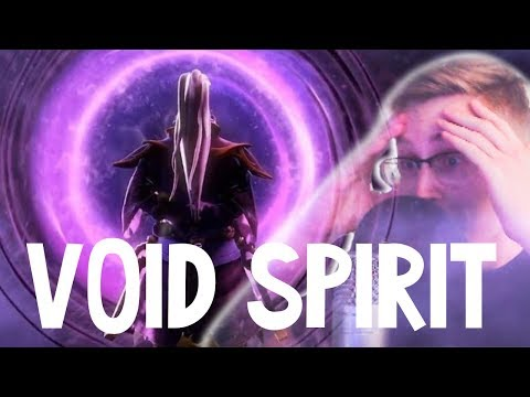 ЧЕТВЕРТЫЙ СПИРИТ ВЫШЕЛ - РЕАКЦИЯ НА VOID SPIRIT!