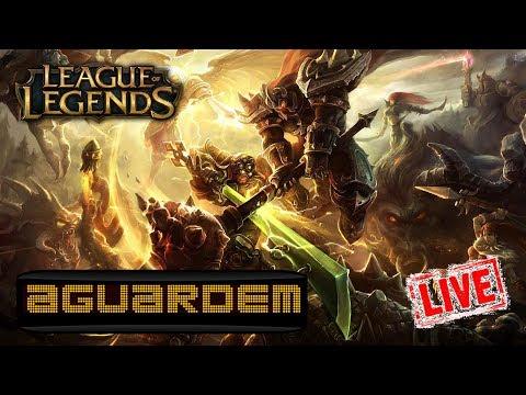 League of Legends (LIVE) - 100 likes com sarrada biológica
