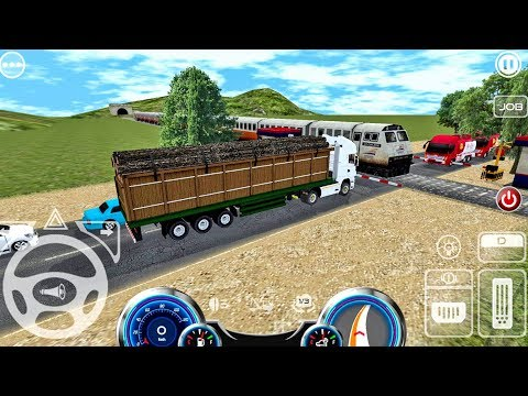Android Game: Mobile Truck Simulator gameplay #4 Truck Games