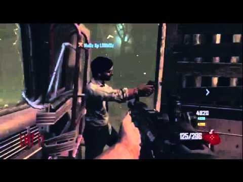 Black Ops 2 - Zombies Gameplay! - Full game on Bus depot