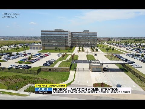 First Amendment Audit - Federal Aviation Administration - Fort Worth