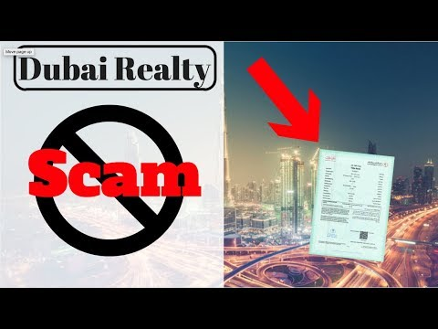 Avoid scams in Dubai: How to validate the Title Deed?