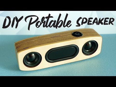 Simple DIY Portable Bluetooth Speaker | HOW TO