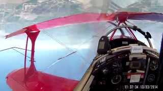 81 turn guinness world record inverted flat spin helmet cam