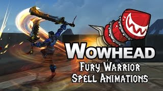 Legion Fury Warrior Spell Animations