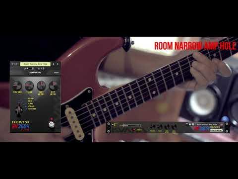 Efektor RV3604 Reverb: Old Amp in A Room