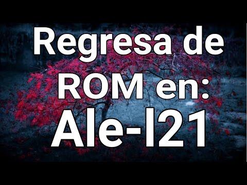 Regresar de ROM- P8 lite(Vídeo Antiguo,lee la descripción)